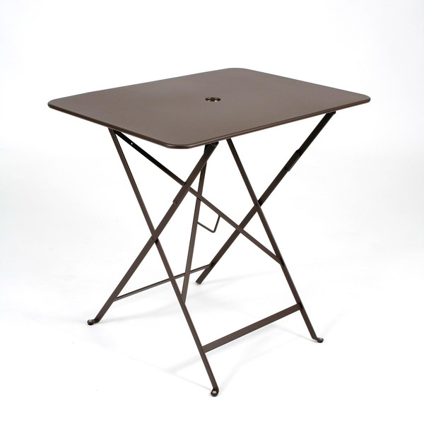 "Fermob Metal Bistro 30"" x 22.5"" Rectangle Folding Table"