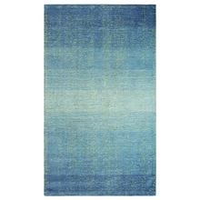 More about the 'Sari Stripe Blue Hooked and Tufted Wool and Silk Rug by Company C' product