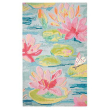 Watter Lillies wool rug by CompanyC