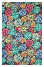 Succulents wool rug by Company C