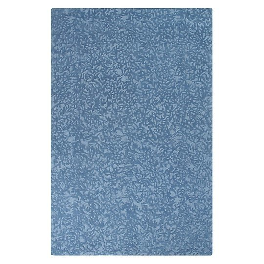 Crackle Blue Iris Rug by CompanyC
