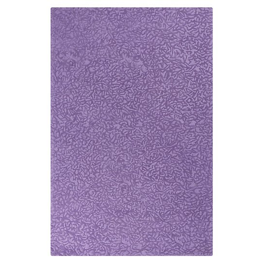 Crackle Lavender Wool Rug by CompanyC