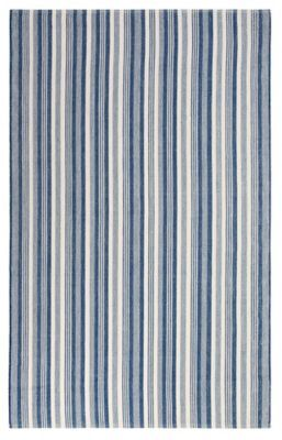 Ticking Stripe Indoor Outdoor Rug by Company C
