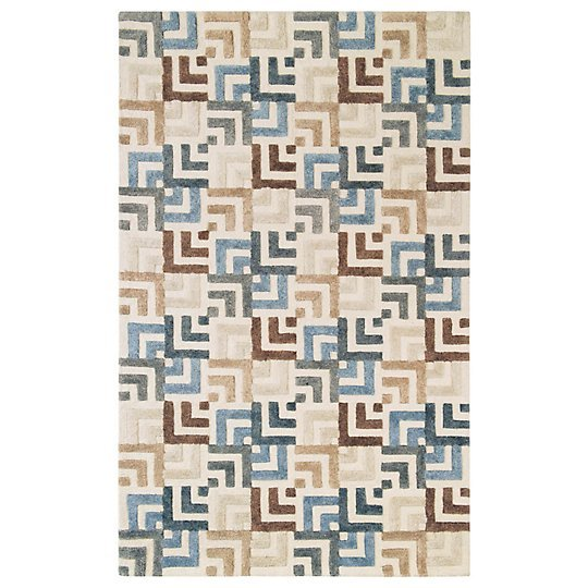 Squared Off Rug by CompanyC