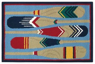 Paddles Indoor outdoor Rug by Company C