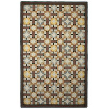 Pachisi Hooked Rug by CompanyC