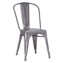 Tolix Style Chairs - Gunmetal