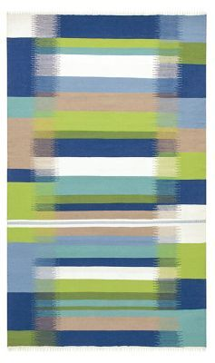 Kokomo Blue Indoor Outdoor Rug by CompanyC