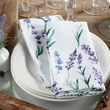 More about the 'Lavender Napkins. Set of 6.' product