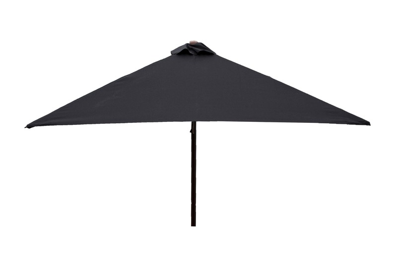 Square umbrella Black