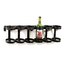 Ristorante Wine Rack holds up to 6 bottles.