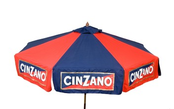 Cinzano 9' Market Umbrella