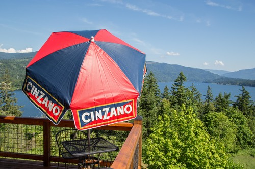 6' CinZano Patio Umbrella