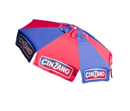 Cinzano Deluxe 8' Patio and Beach Umbrella