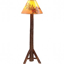 Hickory Floor Lamp w/o Shade