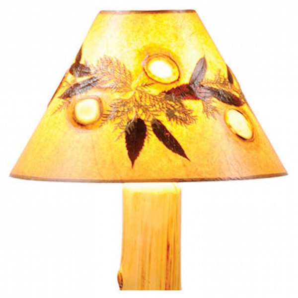 Agates & Foliage Lamp Shade