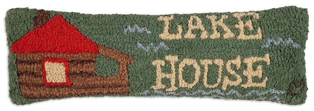 More about the 'Lake House Hooked Pillow by Chandler 4 Corners' product