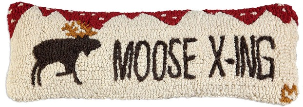 More about the 'Moose Crossing Hooked Pillow by Chandler 4 Corners' product