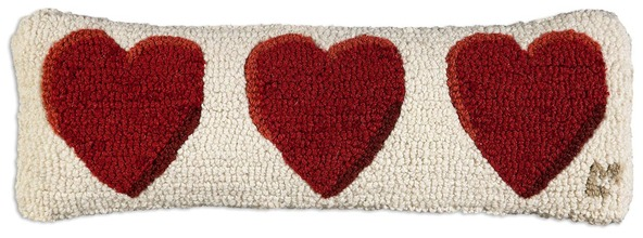More about the 'Three Hearts Pillow by Chandler 4 Corners' product