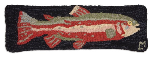 More about the 'Steelhead Trout Hooked Pillow by Chandler 4 Corners' product