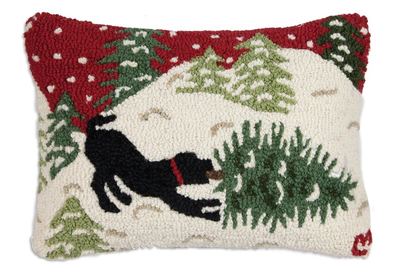 Bringing Home Tree Red Pillow by Chandler 4 Corners