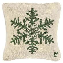 More about the 'Forest Flake Hooked Pillow by Chandler 4 Corners' product