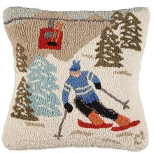 More about the 'Gondola Run Hooked Pillow by Chandler 4 Corners' product