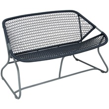 Fermob Sixties Bench - Storm Grey
