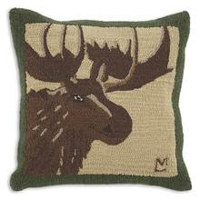 More about the 'Great Moose Hooked Pillow by Chandler 4 Corners' product