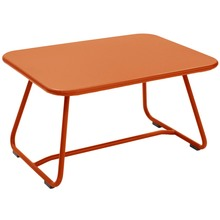 Sixties Low Coffee Table - Paprika