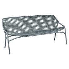 Croisett 3 seater bench storm grey