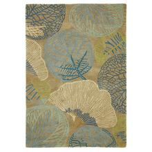 Monterey Lagoon Hooked and Tufted rug