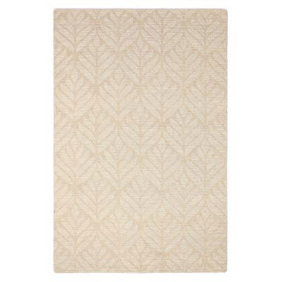 Textured Leaf Rug by Company C