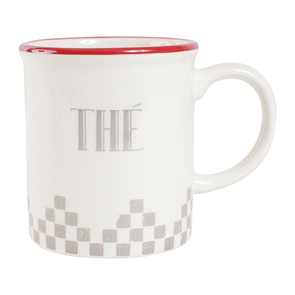 Damier Grey Coffee Mug