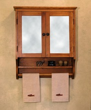 More about the 'Southern Pine Monterey Mirrored Cabinet' product