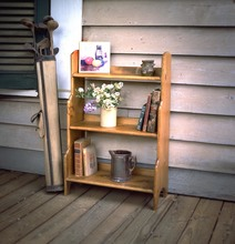 Southern Pine Open Back Bookcase