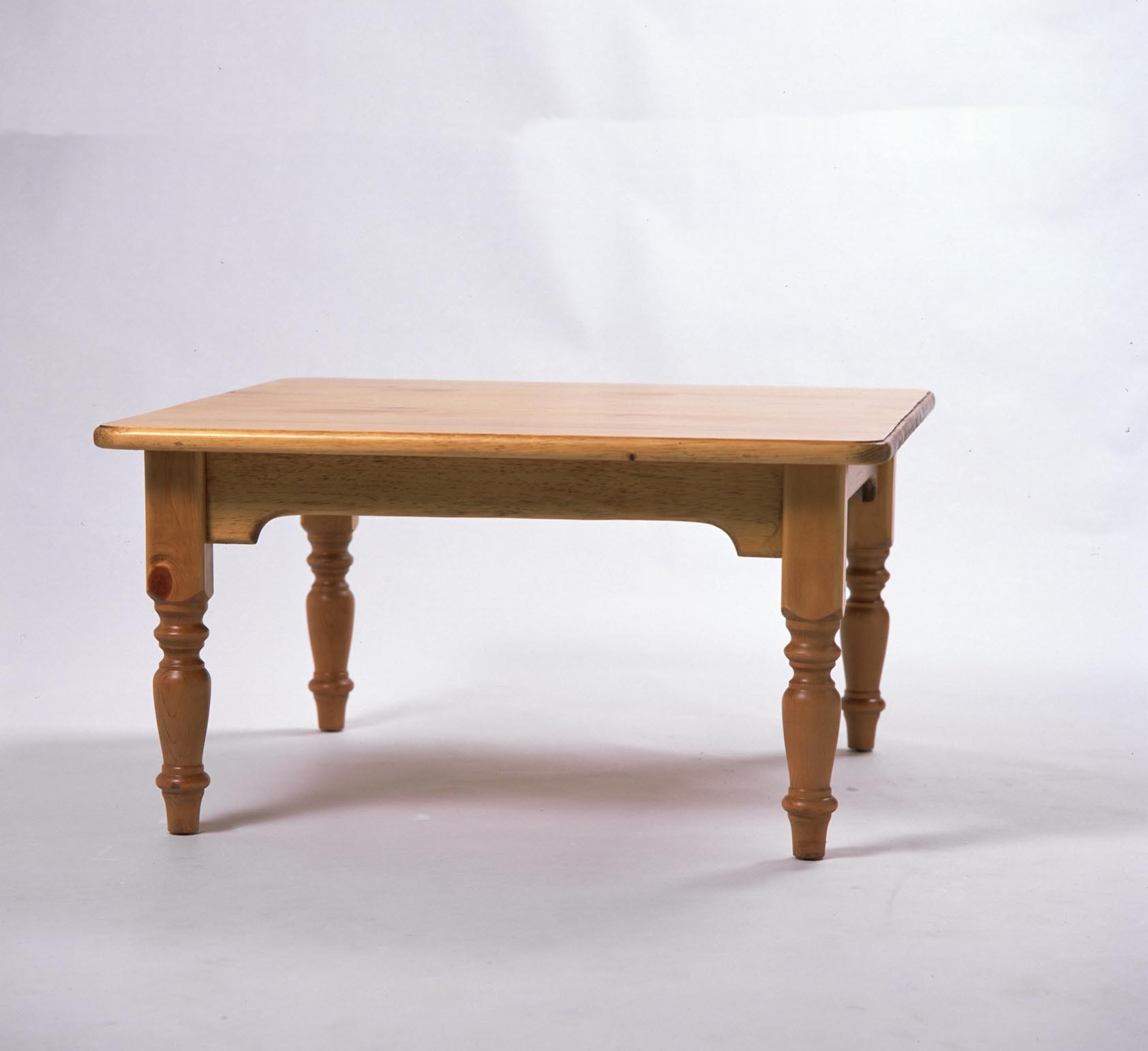 Superbe Southern Pine Rectangular Coffee Table