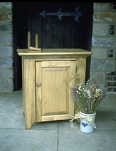 Southern Pine One Door Cabinet