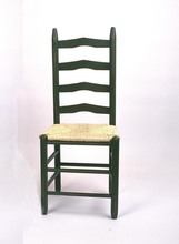 Southern Pine Shaker Ladderback Side Chair