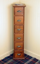 Southern Pine Six Drawer Cabinet