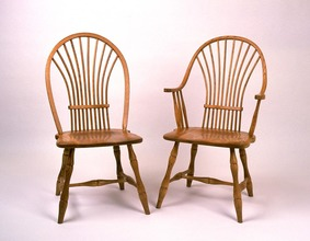 Southern Pine Wheat Back Side Chair