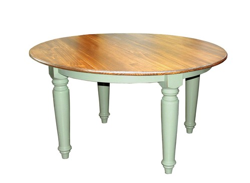 southern pine 60 round plank top farmhouse dining table. beautiful ideas. Home Design Ideas