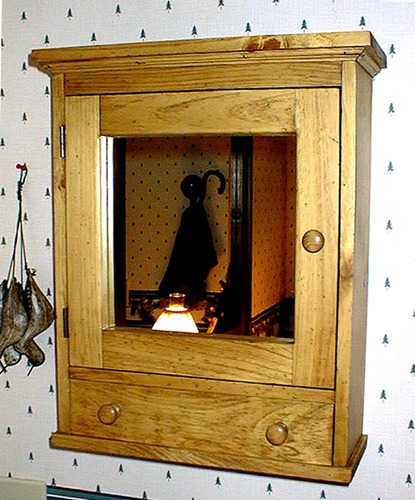 Southern Pine Medicine Cabinet With