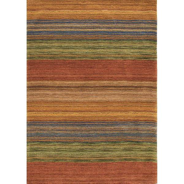 Brushstroke Multi Tufted Wool Rug by Company C