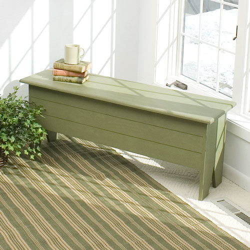 Cape Cod Storage Bench
