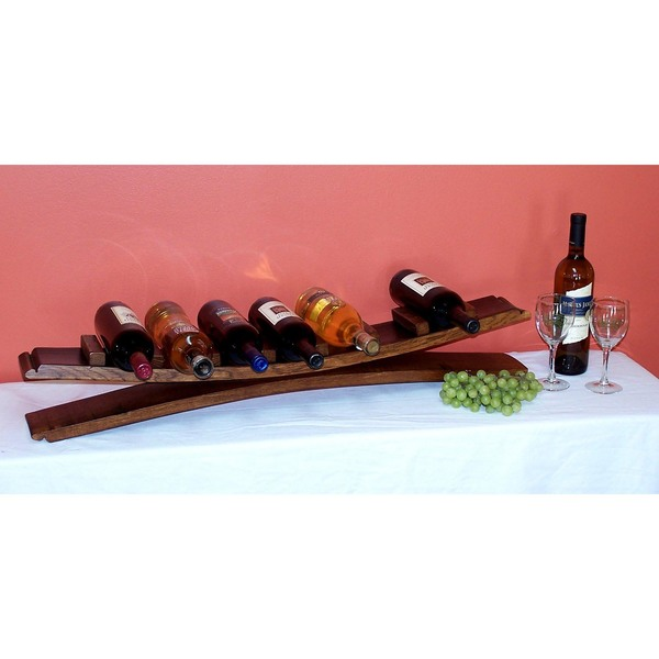 7 Bottle Stave Display