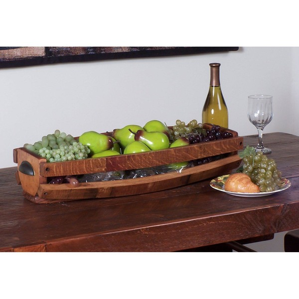 Stave Table Basket