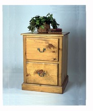 Southern Pine File Cabinet