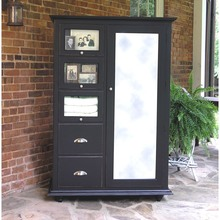Southern Pine Cottage Armoire