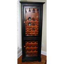 Southern Pine Tall Wine Chest